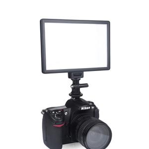 Image 3 - Viltrox L116B камера Супер тонкий ЖК дисплей с регулируемой яркостью студийная фотопанель для камеры DV видеокамеры DSLR фото