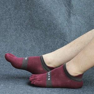 Image 4 - Pure cotton toe socks men mesh breathable five finger sock casual ankle socks new fashion mens five toe sock 6 pairs/lot