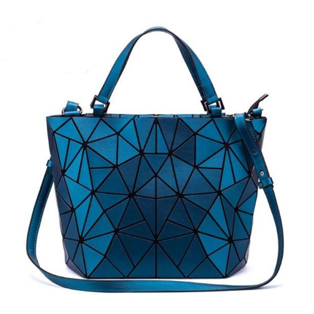 Geometry Tote Bucket Bag