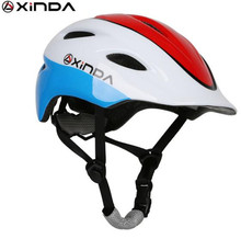 Xinda Child Helmet Bicycle Riding Protector Rock Climbing Outdoor Roller Skating Children Helmet Protective Equipment xinda outdoor adjustable helmet climbing equipment expand helmet hole rescue mountain climbing helmet protective safety helmet