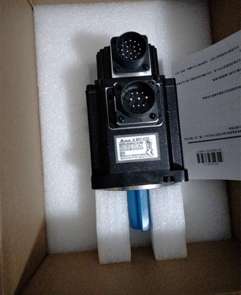 ECMA-C11010RS + ASD-A2-1021-M CANopen ac-servomotortreiber kits 1kw 3000 rpm 3.18Nm 100mm rahmen