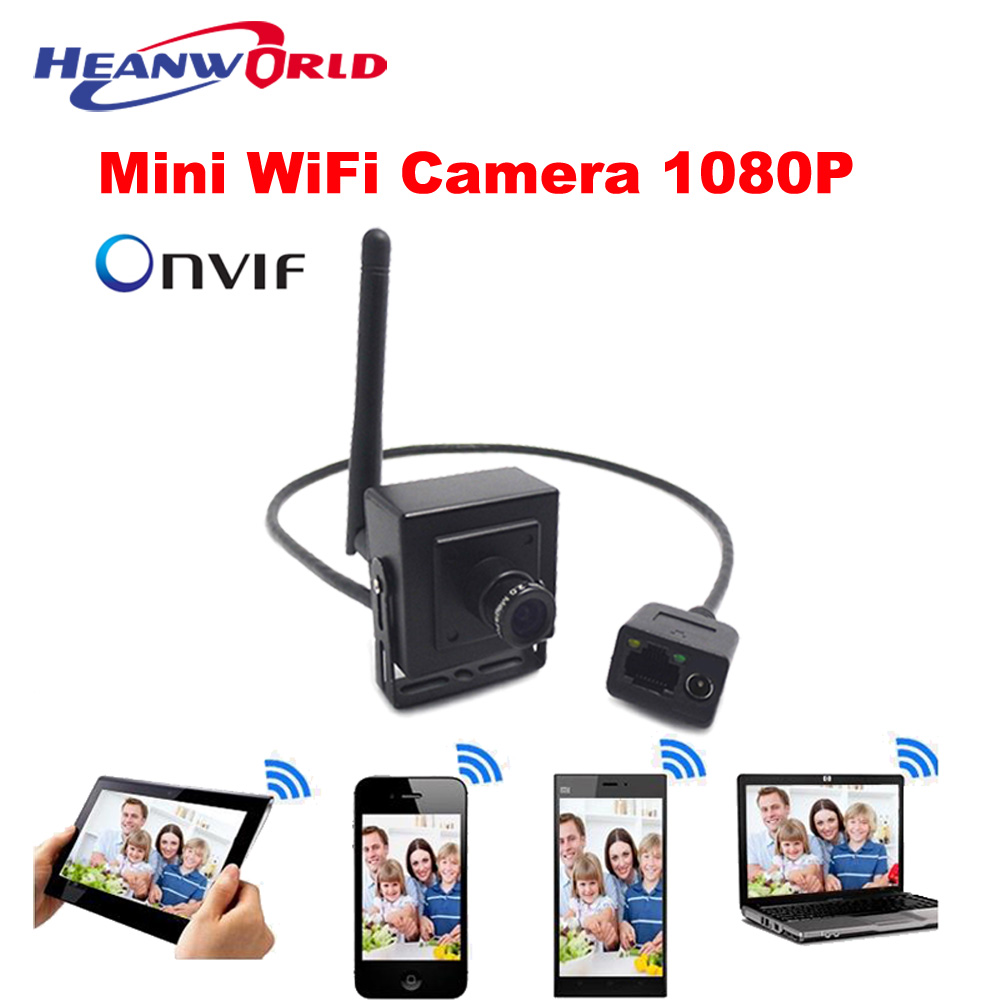 Mini HD Wifi IP Camera 2.0MP 1080P Wireless Network Camera P2P small Camera ONVIF CCTV Security Camera iPhone Android APP