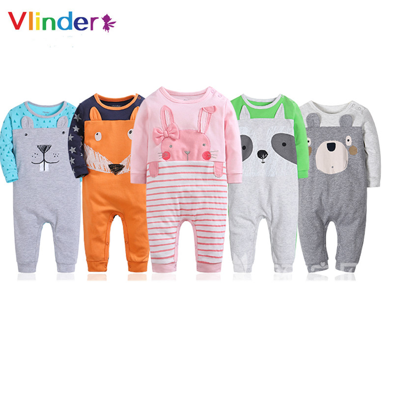 Detail Feedback Questions about Vlinder New Baby Rompers Newborn Animal  Prints Clothes Spring Autumn Infant Jumpsuit Cartoon Snug Long Sleeves  Pajamas on ... 0f9b3d7d6dca