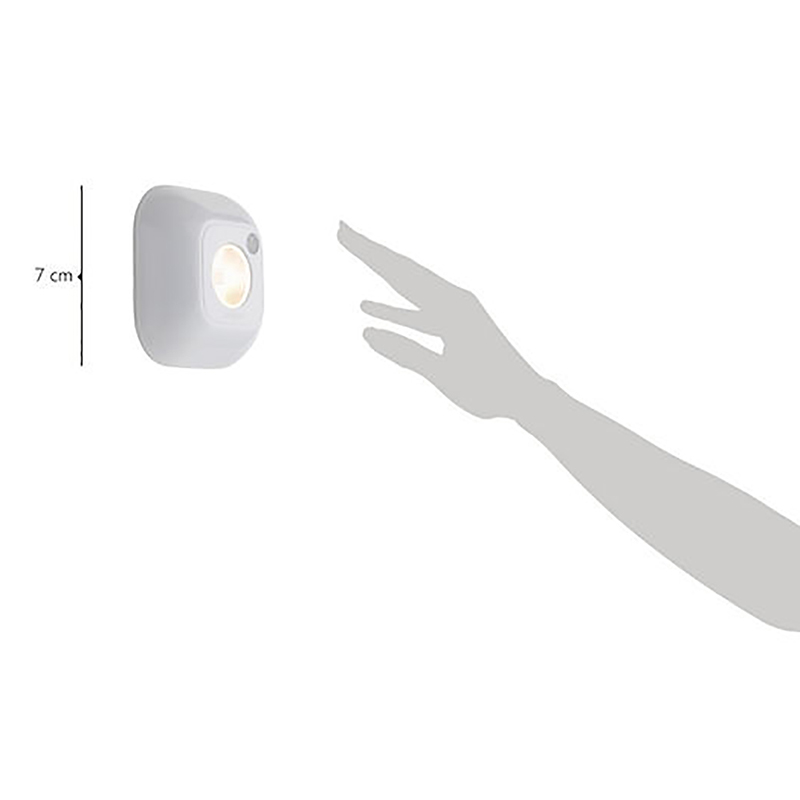 LED Wireless Wall Lamp Night Light Infrared Motion Activated Sensor Lights Battery Powered Emergency Wardrobe Cabinet Night Lamp