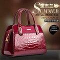 2015 НОВЫЙ Дизайнер сумки посыльного сумки женские сумки леди кожаная сумочка женская мода сумка краска женская сумка Q0