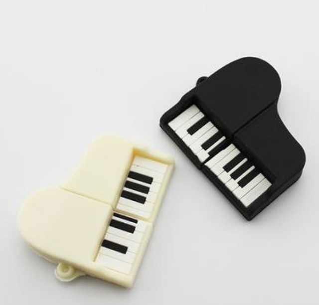 Pamięć USB USB flash napęd muzyka moda fortepian USB flash 2.0 pamięć flash trzymać długopis/kciuk/pendrive 4 GB 8 GB 16 GB 32 GB 64 GB 128 gb