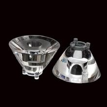 MUAW-2205 высококачественные светодиодные линзы, линза CREE, 5 градусов, с feets, размер: 22X13,71 мм, чистая поверхность, pmma-материалы
