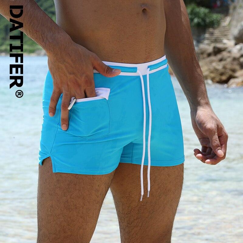 Datifer Marke Mann Bademode Surf Board Strand Tragen männer Badeanzüge Männlichen Badehose Sommer Boxer Shorts