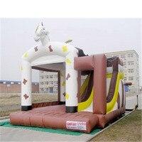 Пвх оборудование для детской игровой площадки крытый и открытый надувные слайд/мягкая игровая площадка батут