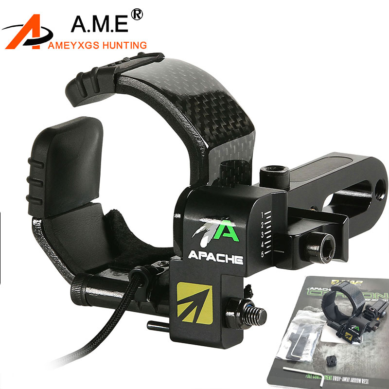 Arrow Bow Drop Rest Archery Bow Drop Away Arrow Rest for Compound Bow Shooting and Hunting
