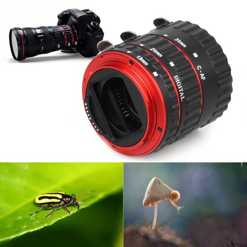 New Metal Mount Auto Focus AF Macro Extension Tube/Ring For Canon EF-S Lens T5i T4i T3i T2i 100D 60D 70D 550D 600D 6D 7D