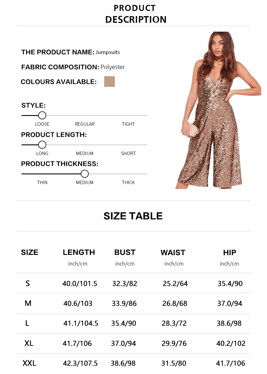 HDY Haoduoyi 2018 Solid Sexy Sequined Women Jumpsuits Off Shoulder Strap V-Neck Casual Chic Female Summer Rompers 2