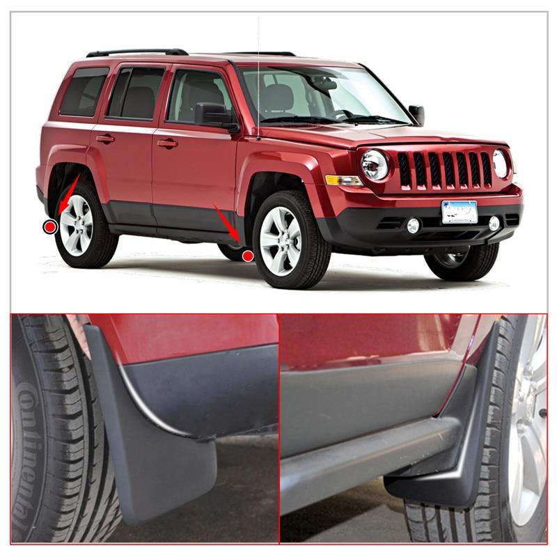Здесь продается  Car Front & Rear Splash Mud Guards Mud Flaps Fender for Jeep Patriot 2011-2017 Car accessory Mudguards  //  Автомобили и Мотоциклы