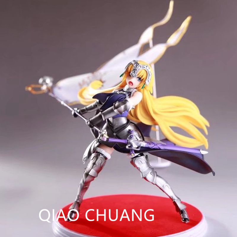Fate /Grand Order Saintly-woman Giovanna D'arco The Holy Grail War Ruler Sventolando bandiere ver PVC Action Figure Doll G486 le fate топ