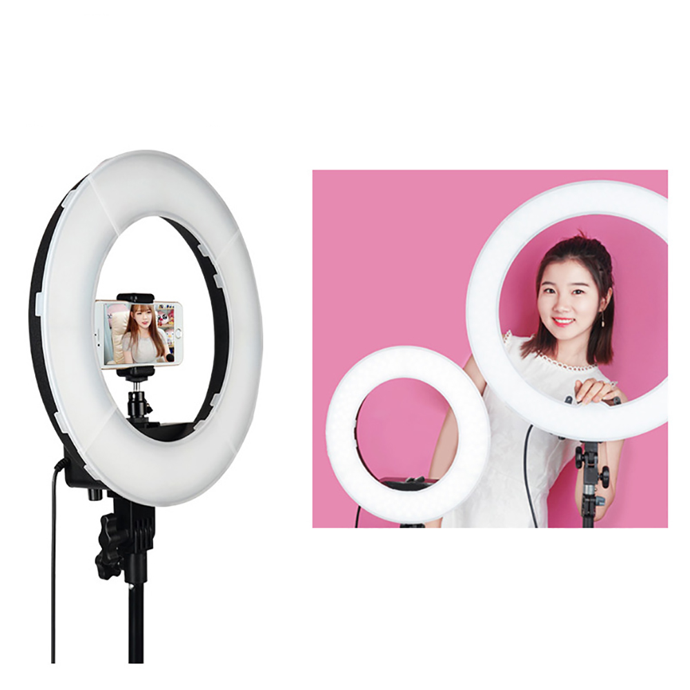 Vlog Verlichting Aliexpress Buy Ring Licht 60 W 240 Stks 100 V 240 V Led Lamp Camera Led Smd Video Foto Camera Ring Licht Fotografie Verlichting Photography From