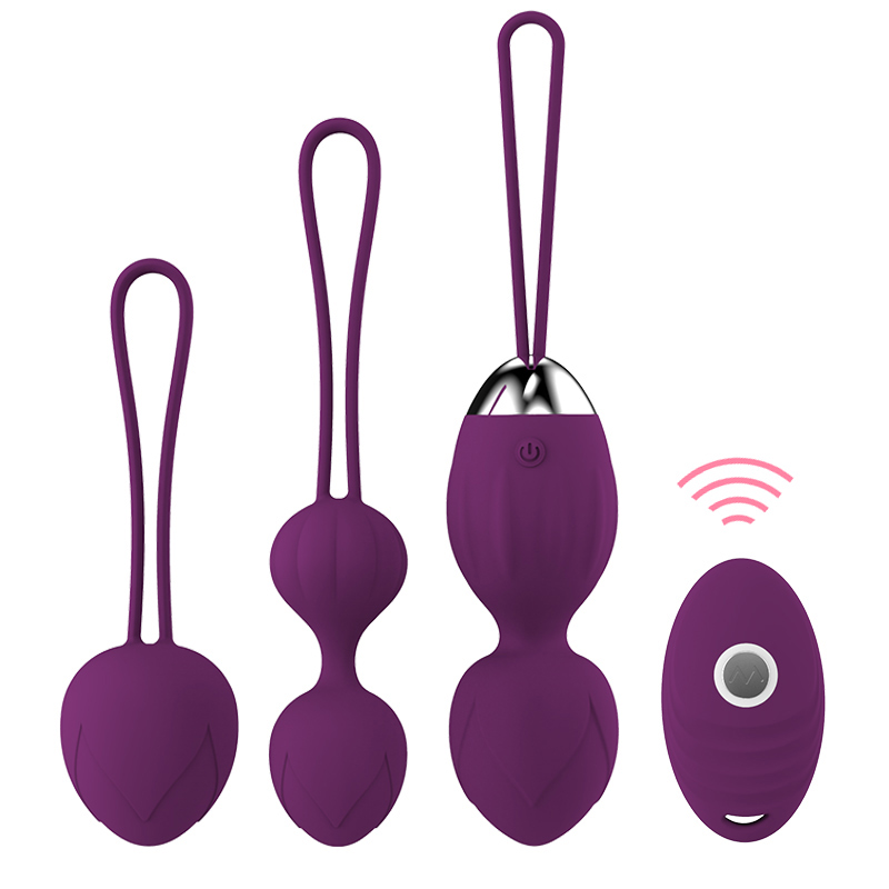 10 Speed Vibrator Kegel Balls Ben Wa Ball G Spot Vibrator Wireless Remote Control Vaginal Tighten Exercise Sex Toys For Women