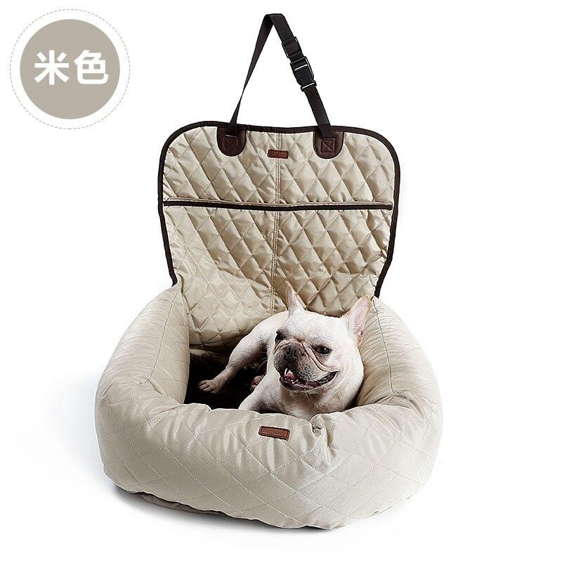 Многофункциональный pet кровать собака матрас спереди и сзади рядами автомобили утолщение pet автомобилей колодки