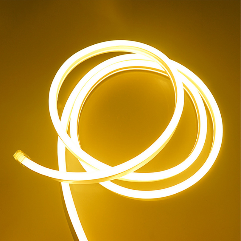 1M/2M/3M/4M/5M/6M/7M/8M/9M/10M AC220V IP68 Waterproof 120LED/M flexible Neon LED strip light Christmas Outdoor decoration lights 1 8m 2 1m 2 4m 2 7m 3 0m 100