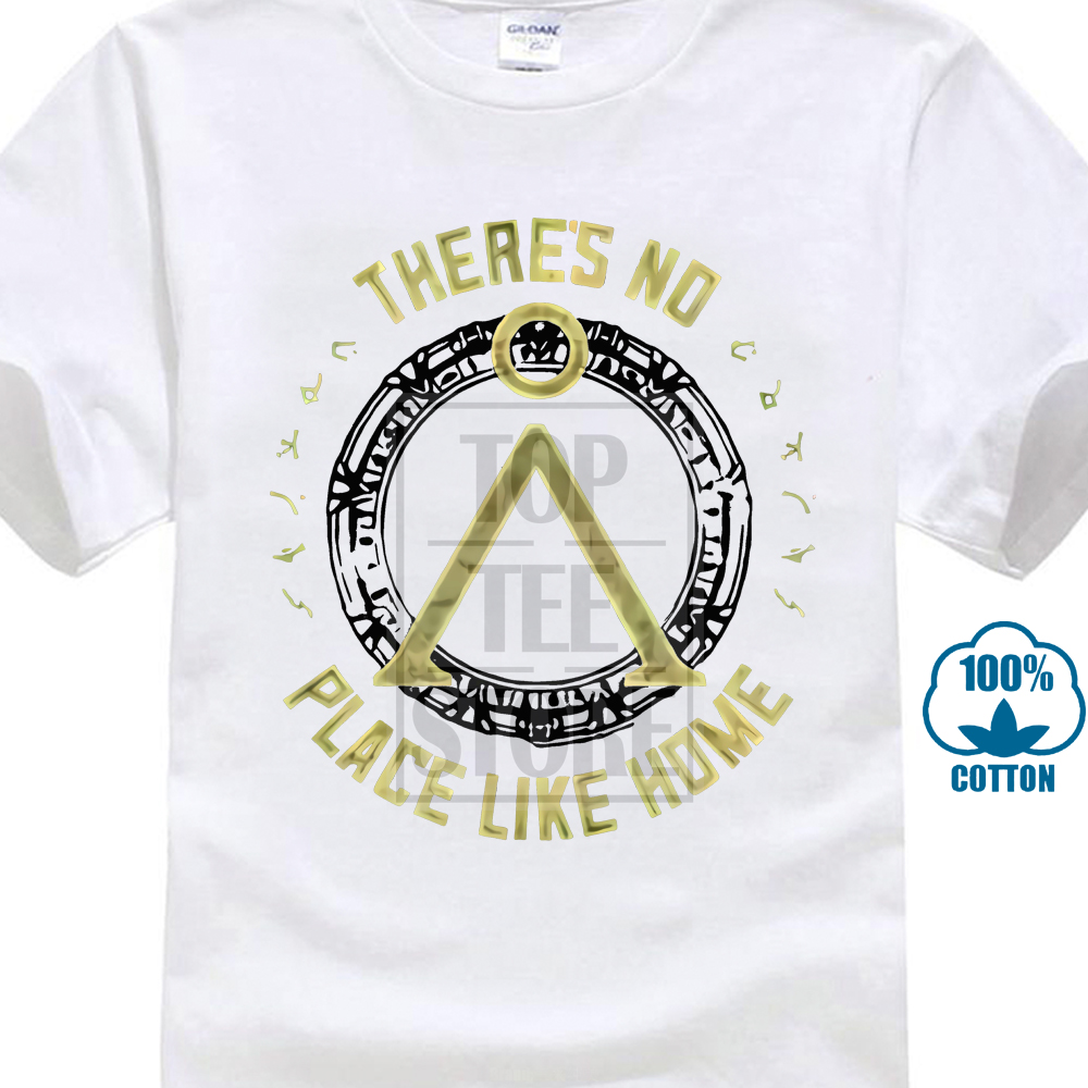 Stargate 1990'S Tv Series Movie There'S No Place Like Home Adult T Shirt image