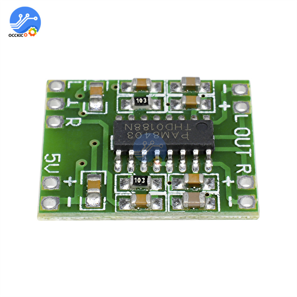 Amplifier-Board Audio-Speaker PAM8403 Class-D Power Sound Digital Modulo To 2--3w 5V