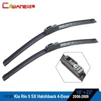 Car Bracketless Windscreen Wiper Blade Soft Rubber Windshield Wiper For Kia Rio 5 SX Hatchback 4