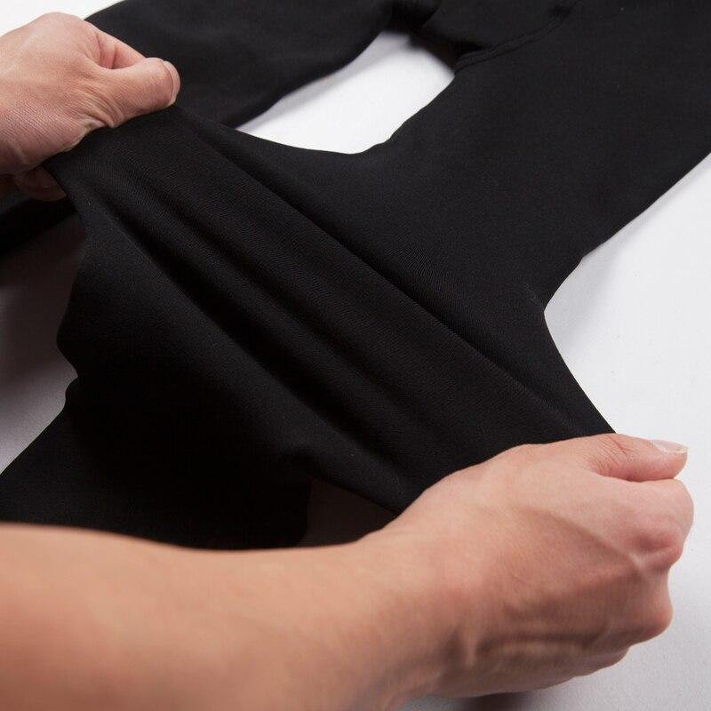 Новые модные женские осенне-зимние штаны высокого эластичности и хорошего качества, плотные бархатные штаны, новые теплые леггинсы Rooftrellen
