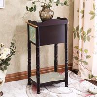 Стол французский тумбочка с ящиком и полка, прикроватная тумба, лампы стоят, подножка сбоку, завод стол, тумбочка, журнальный столик
