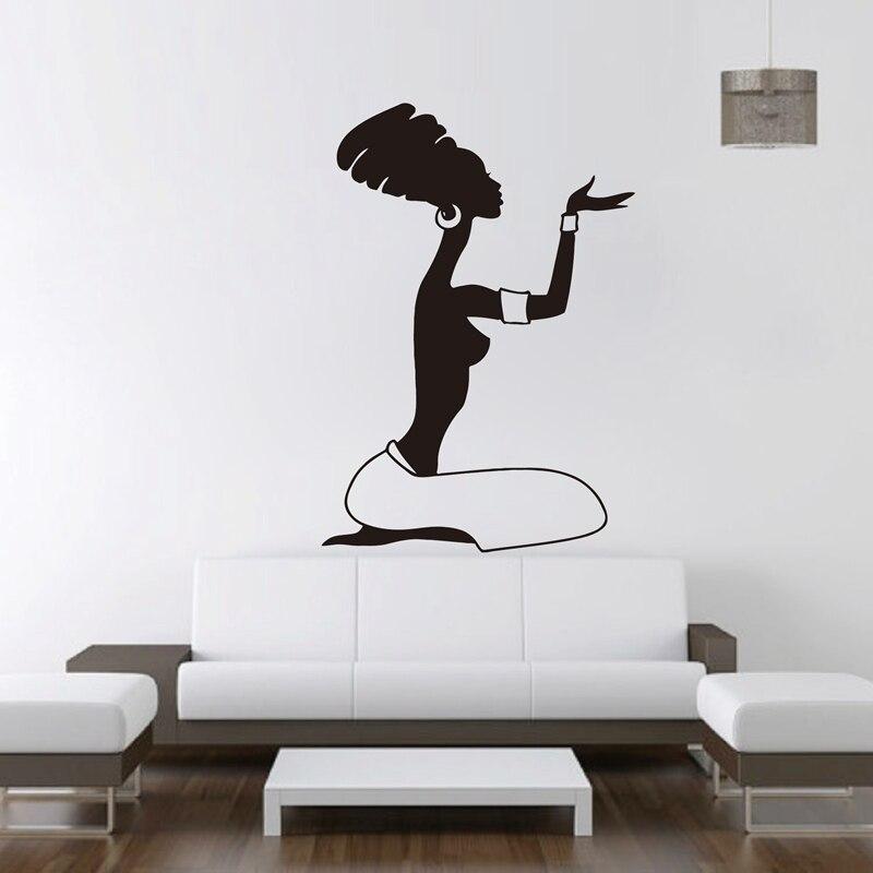 Afrikanische Frauen Wandtattoo Vinyl Aufkleber Home Interior Design Afrika Aufkleber Murals Wall art Decor
