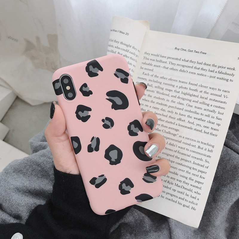 Fashion Colorful Leopard Print Phone Cases For iphoneXS Max iphoneXR iphoneX Luxury Soft Back Cover