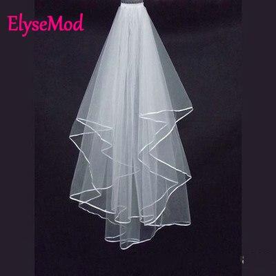 White Ivory Wedding Veil