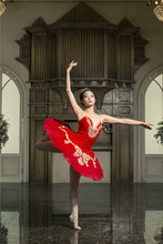 professional ballet costumes  Kitri in Don Quixote Mercedes or Kitris friends Spanish dance Nutcracker Paquita red