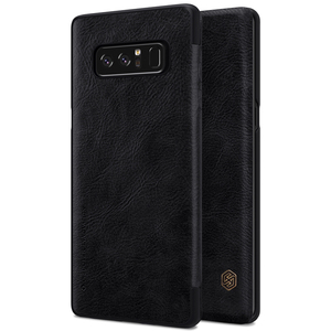 Image 2 - Nillkin Odwróć Case Do Samsung Galaxy Note 8 Qin Serii PU Skóra Pokrywa 4sfor Samsung Note 8 Przypadku