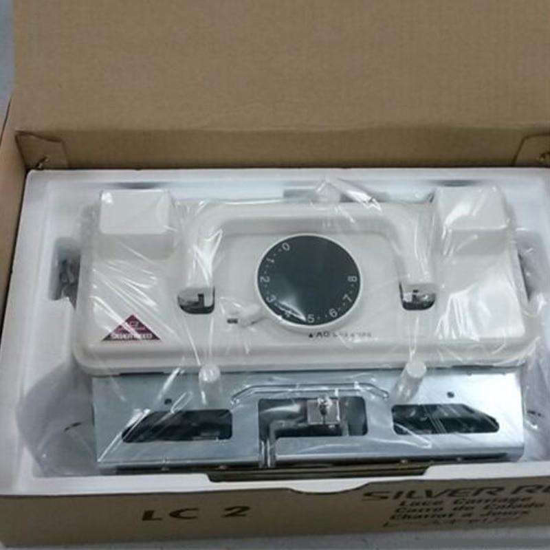 Nouvelle Argent Roseau LC2 Dentelle Transport De Rechange partie pour machine À Tricoter Accessoire SK218 SK260 SK280 SK360 SK600 SK700
