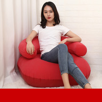 Inflatable Air Lounger Lazy Couch Chair Sofa Bags Outdoor Party Camping Travel PVC Flocking Sofa Collapsible R1334