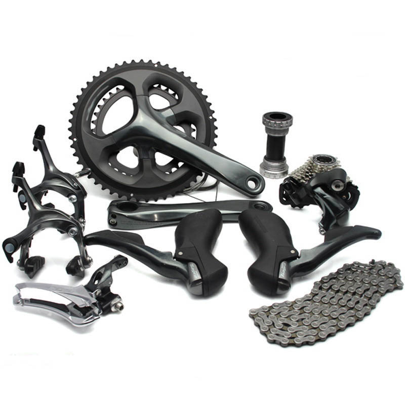 Высокое качество горный велосипед сдвиг комплект 10 20 Скорость горный велосипед Скорость 52-36 т/50- 34 Т велосипед Запчасти