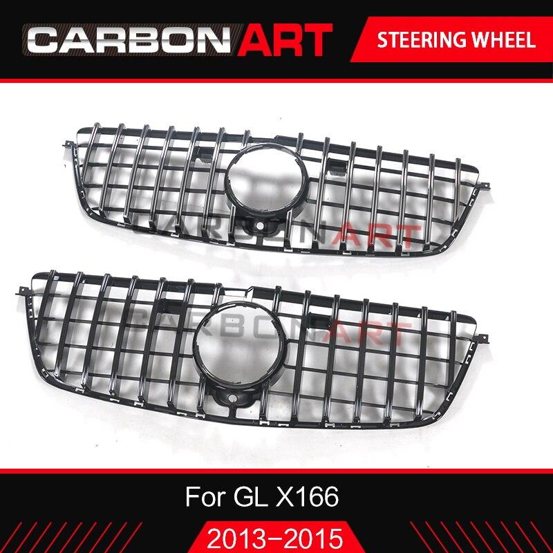 GL class X166 X166 GT grille para Mercedes GL GL 500 GL550 GL63 SUV GL pré-facelift Grade treliça 2013 2014 2015