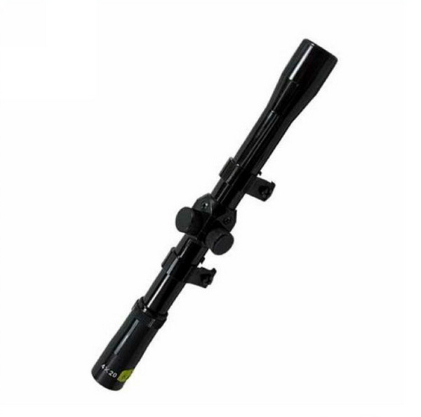 ФОТО caza scopes Free shipping with high quality Military 4x20 Hunting Rifle scope riflescope
