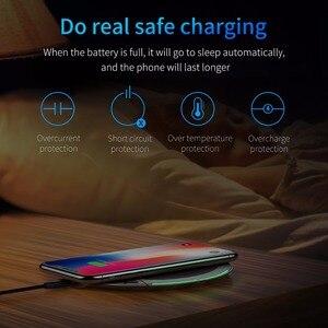 Image 4 - Baseus מתקפל צ י אלחוטי מטען עבור iPhone 11 פרו מקסימום X XR XS משולב מהיר אלחוטי טעינה עבור סמסונג S9/S9 +/S8
