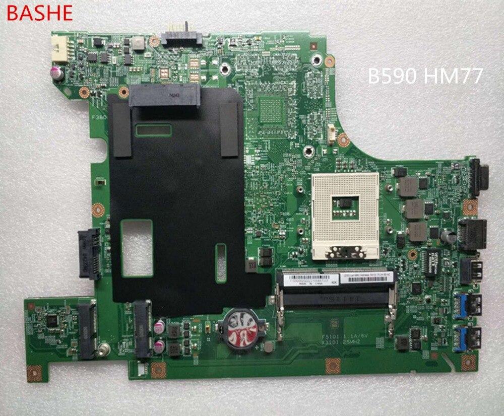B590 HM77 Fit For Lenovo B590 B580 55 4YA01 001 Laptop Motherboard FRU 90002022