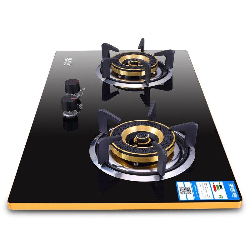 Tabelle Clamp Dual-zweck Gas Ofen Eingebaute Hop Aluminium Legierung Rand-verkleidet Ofen Thermoelement Lösch Dual-herd SchöNer Auftritt