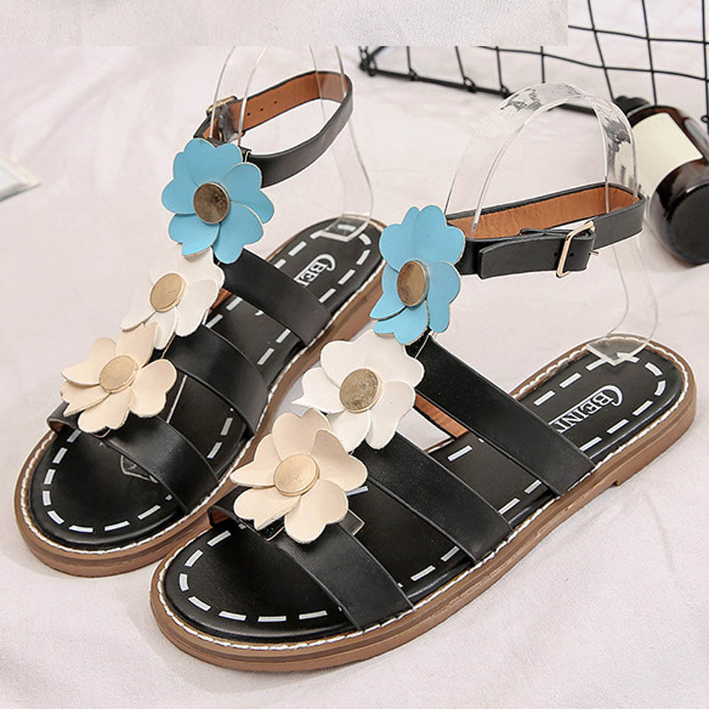 Sandals shoes sale - 2017 Women S Summer Comfort Sandals Shoes Hot Sale Leather Open Toe Female Peep Toe Low