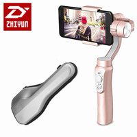 Zhiyun Smooth Q 3 Axis Brushless Handheld Gimbal For 6 Inch For IPhone Smartphone For GoPro