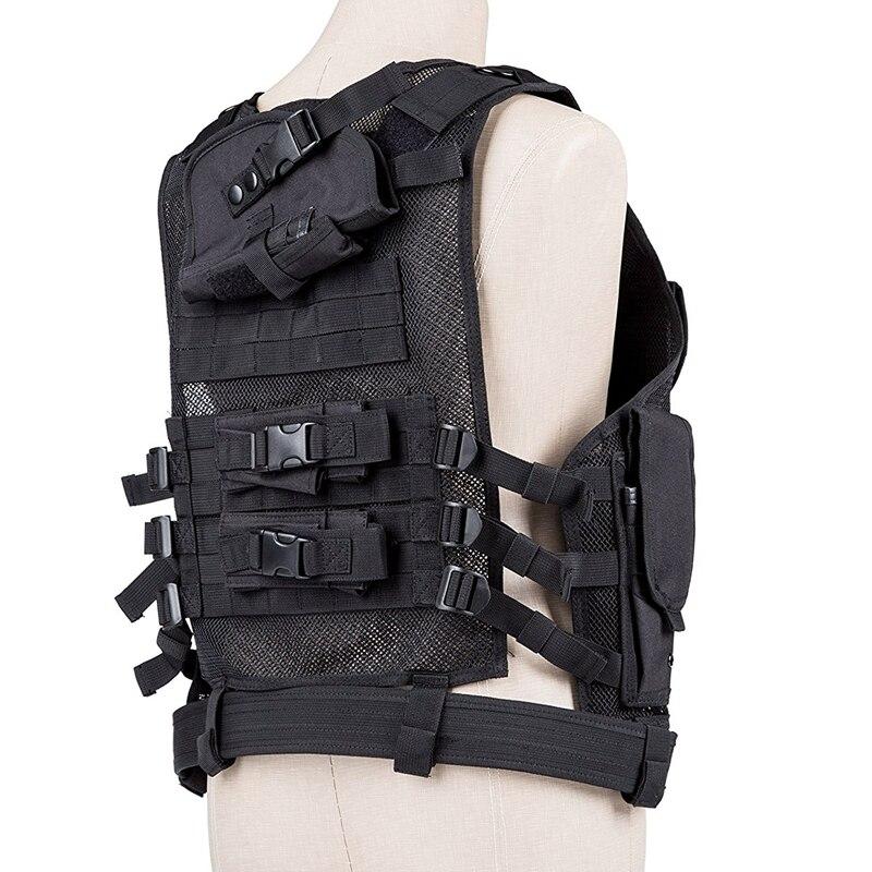Tactic Vest Tactical Combat Vest Molle vest Holster Magazine pouches