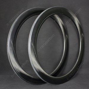 Image 4 - 2019 OEM Brilliant Paintless UD Glossy Mirror Surface Carbon T700C Road Rims Tubular/Clincher Road Disc Brake