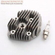 128cc стальная труба большого диаметра крышки головки блока цилиндров для MBK 56 мм усилитель 100 деталь нитро-двигателя Himoto Redcat Ovetto 100& E6TC Свеча зажигания