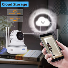 KERUI Indoor Wireless 1.0MP HD 720P IP Camera WiFi Home Security Surveillance Camera Cloud Camera Night Vision Motion Detection smile for no reason iris