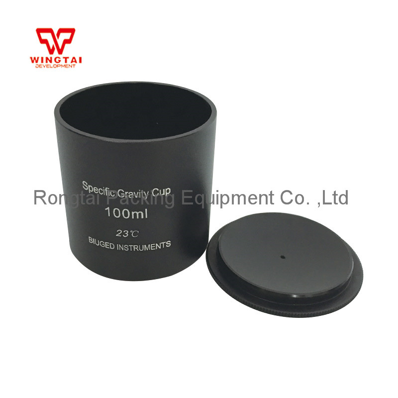 Aluminium Dichtheid Maatbeker 37cc/ml 50cc/ml 100cc/ml Specifieke Gravity Cup Hoge Precisie Dichtheid Cup voor Lab Testen - 5