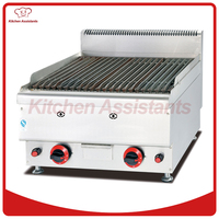 GH569 Gas Lava Rock Grill of bbq equipment