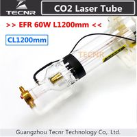 EFR CL1200 60W CO2 glass laser tube 1200MM for CO2 laser engraving machine