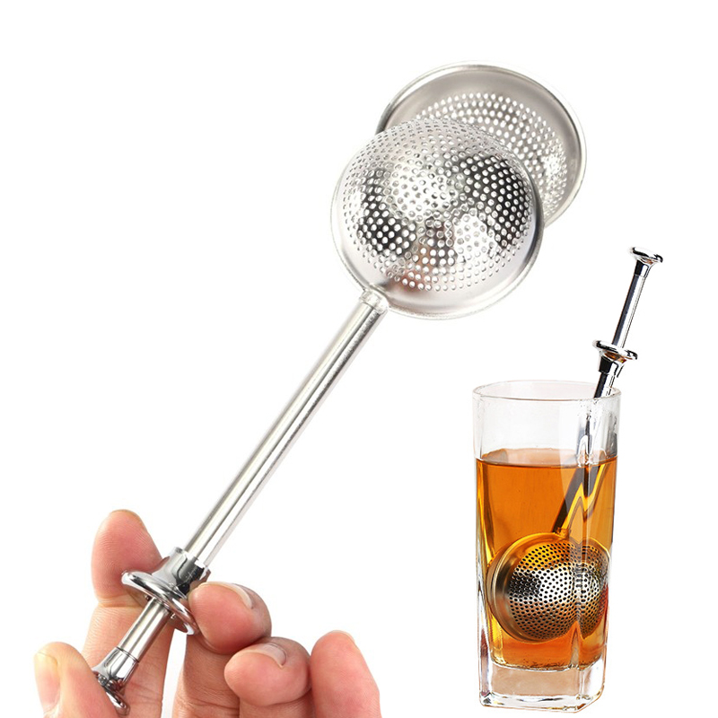 Mesh Tea Strainer Stainless Steel Tea Infuser 1